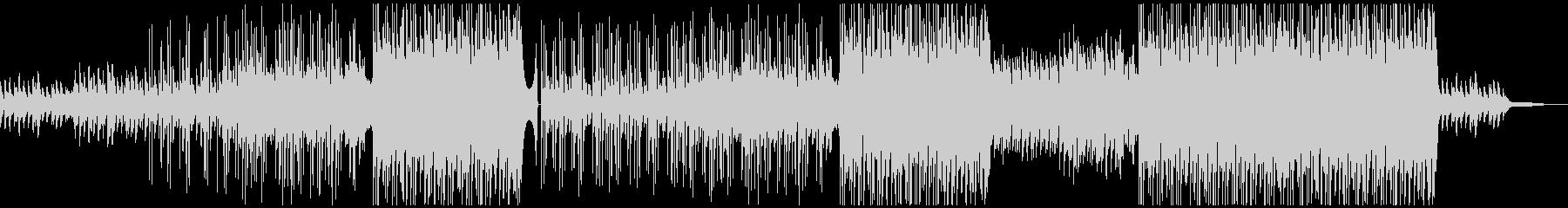 牧歌的なギターポップ/カントリー風BGMの未再生の波形