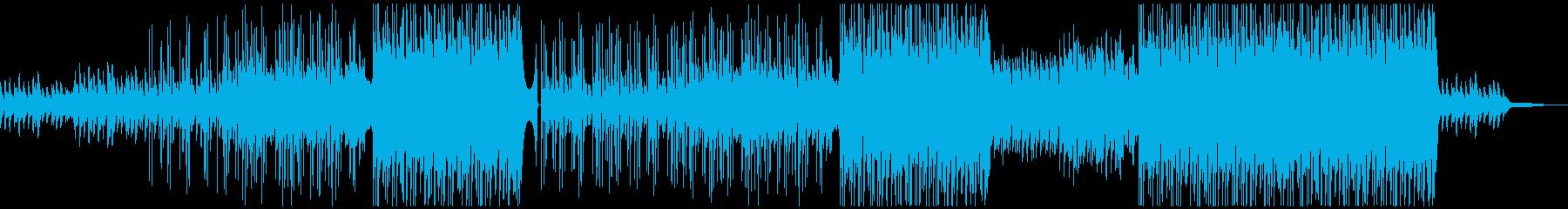牧歌的なギターポップ/カントリー風BGMの再生済みの波形