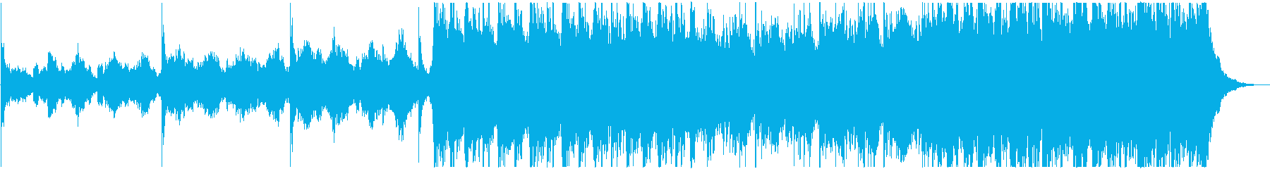 ゆったり壮大なピアノオーケストラエピックの再生済みの波形