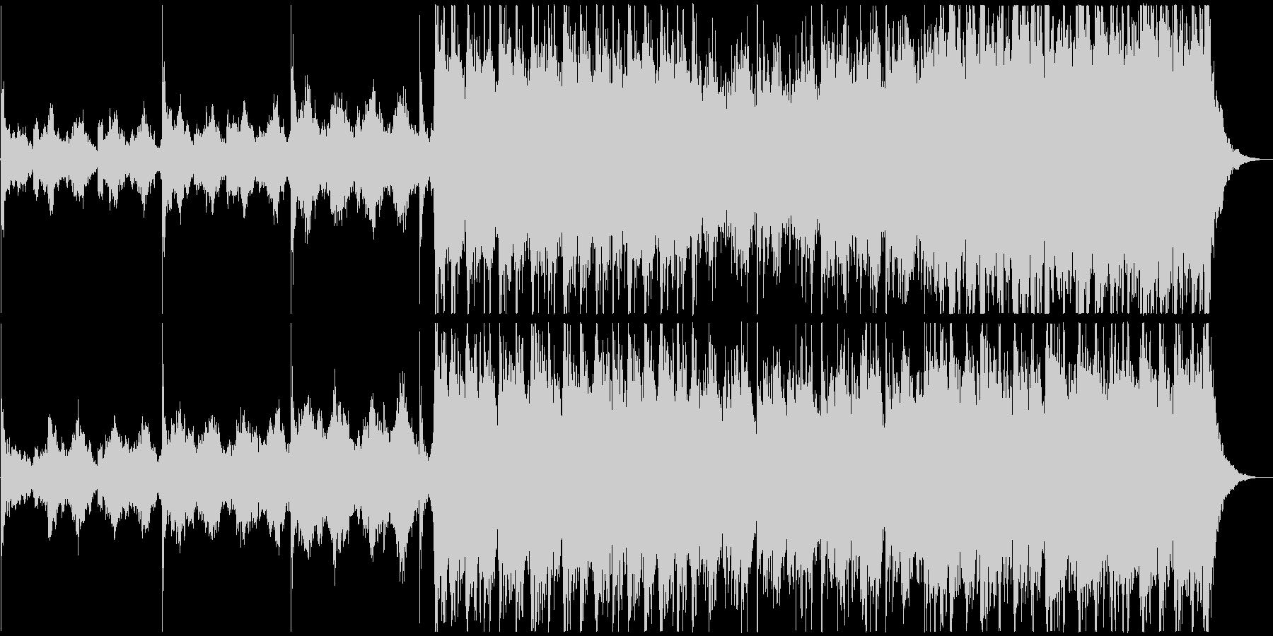ゆったり壮大なピアノオーケストラエピックの未再生の波形