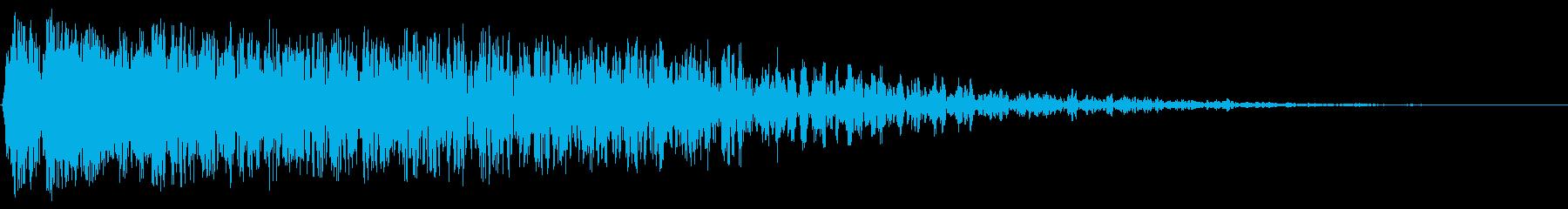 スペースガンマ爆発の再生済みの波形
