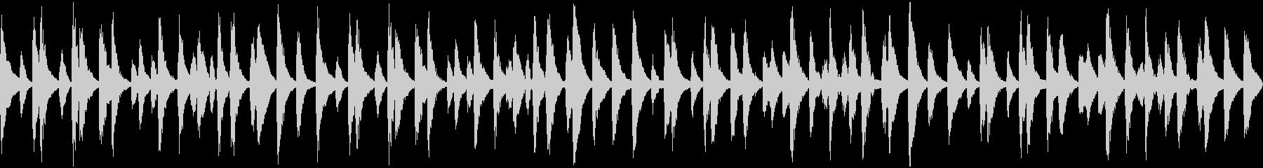 ほのぼのとしたBGM 日常・のんびりの未再生の波形