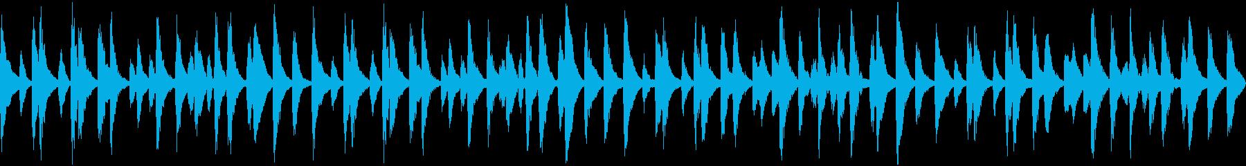 ほのぼのとしたBGM 日常・のんびりの再生済みの波形