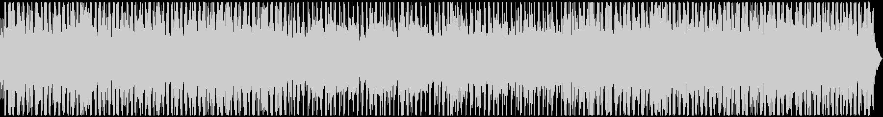シンプル&クール 浮遊感のあるBGMの未再生の波形