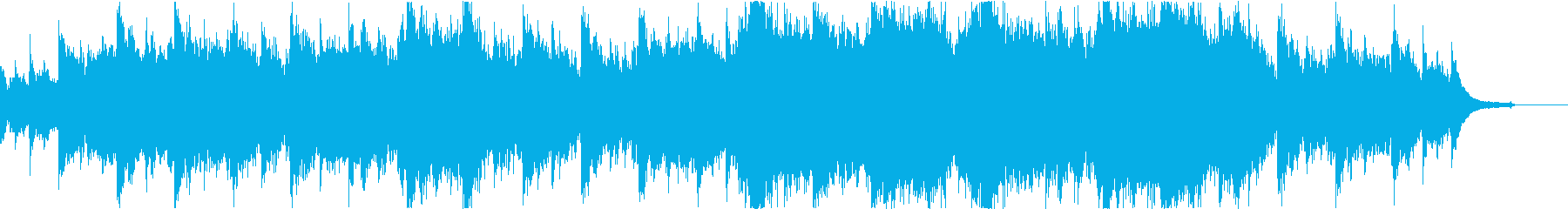 Blue Skyの再生済みの波形