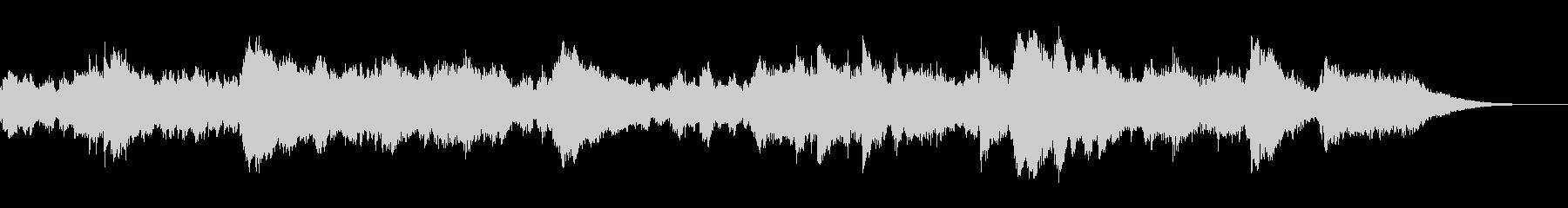 ミステリアスな場面で使える不穏な曲調の未再生の波形