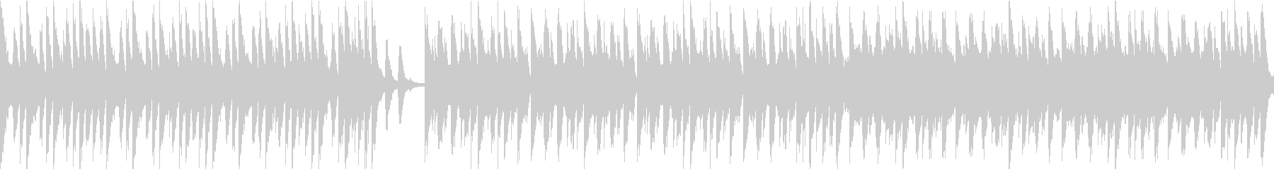 コミカルオーケストラ/静かめループ仕様の未再生の波形