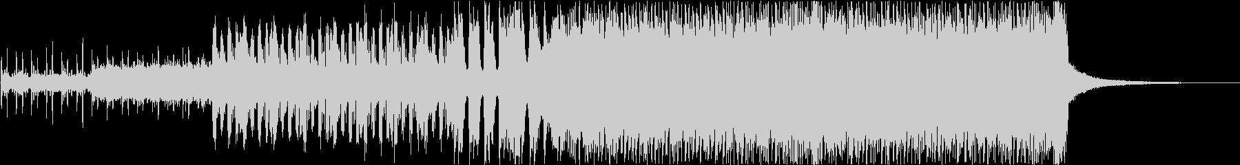 デジロック風ハードコアサウンドの未再生の波形