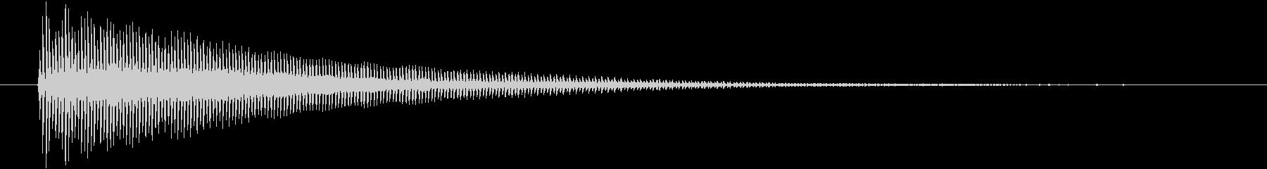 パーカッション 口ハープ17の未再生の波形