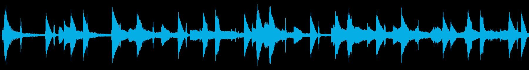 作業中に聴きたいLo-fi hiphopの再生済みの波形
