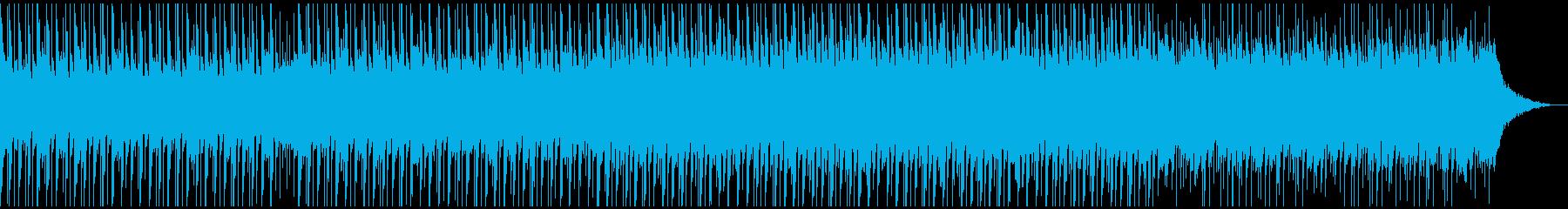 高揚感(中)の再生済みの波形