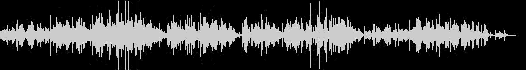 ドビュッシーのレヴリ ピアノソロの未再生の波形