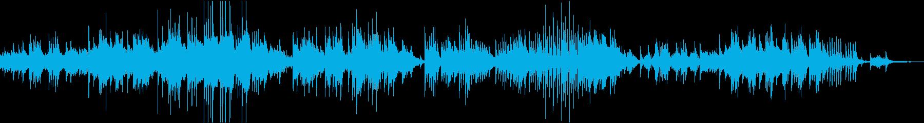 ドビュッシーのレヴリ ピアノソロの再生済みの波形