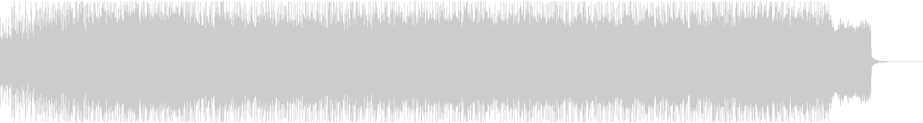 古楽器使用のノリノリパンクロック系BGMの未再生の波形