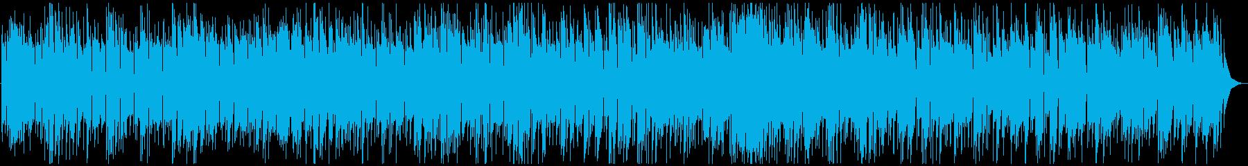 哀愁を感じるアコギBGMの再生済みの波形