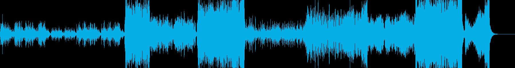 物語 姫チックな映像にマッチするワルツの再生済みの波形