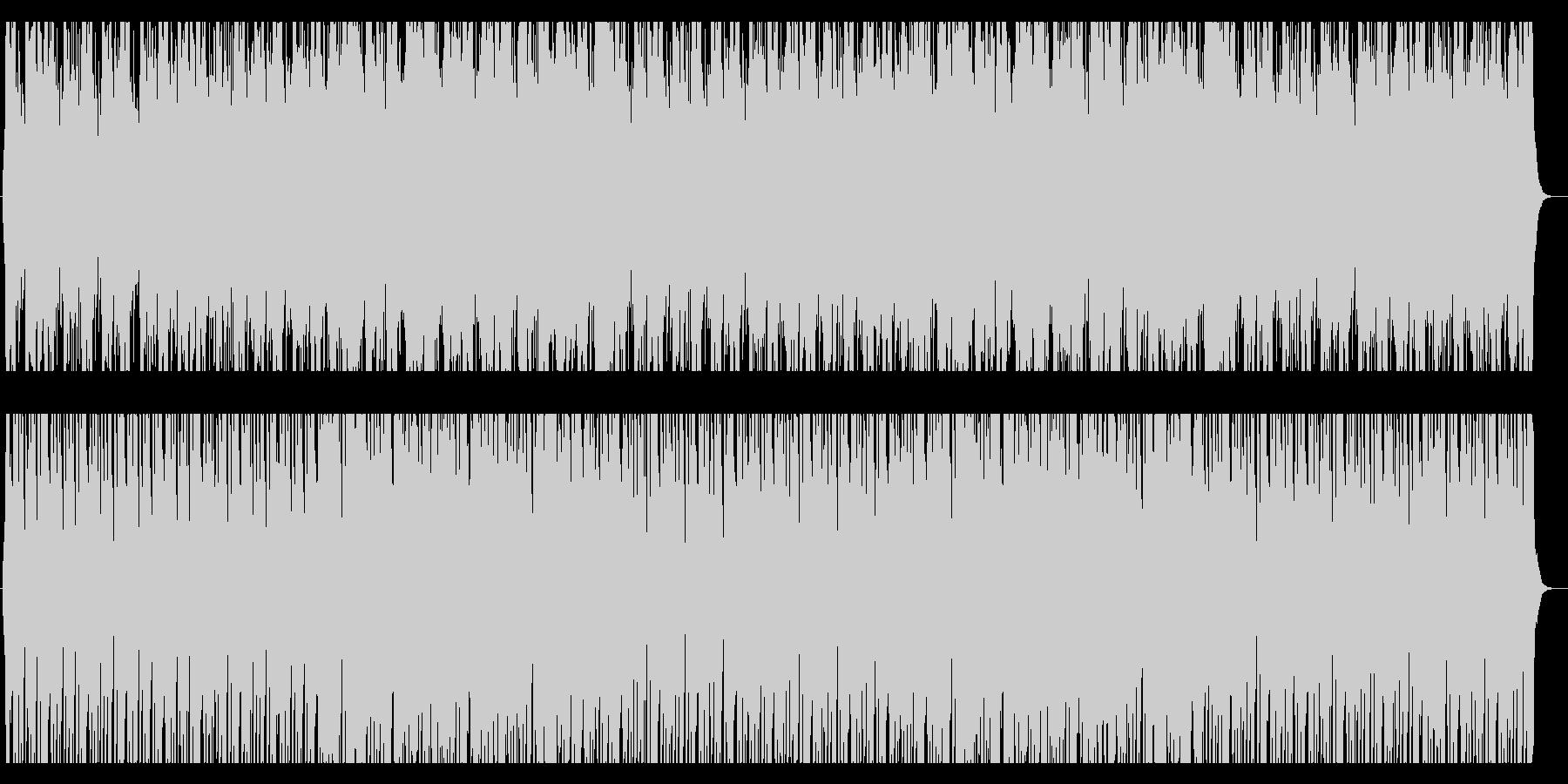 アコ楽器達のかわいくコミカルなワルツの未再生の波形