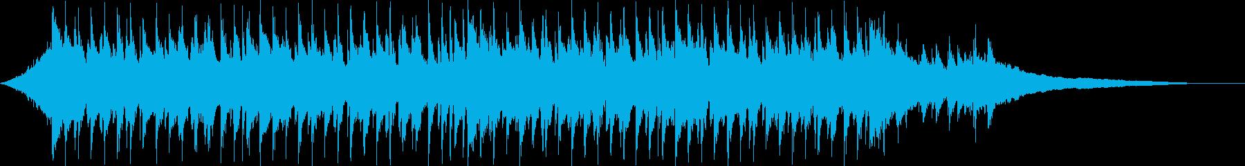 CM30秒、ウクレレ、爽快、疾走感、口笛の再生済みの波形