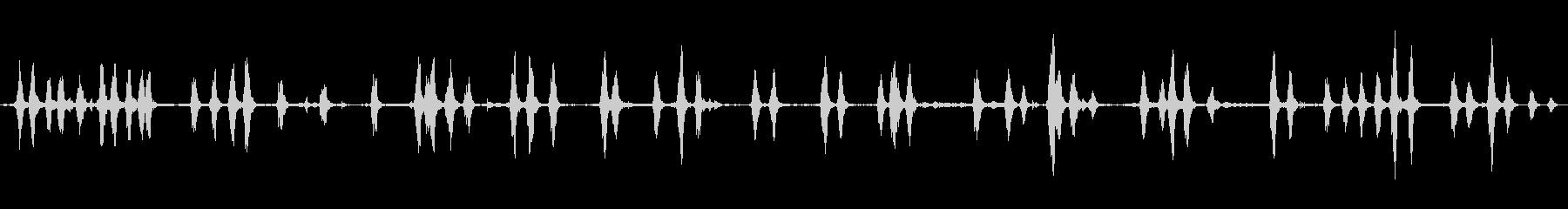 農場の犬がヤギのGoえ声の未再生の波形