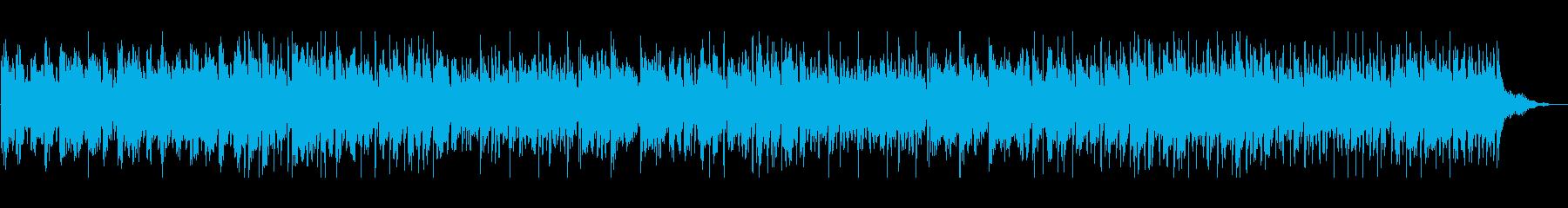 エレピとオルゴールのアンサンブルBGMの再生済みの波形