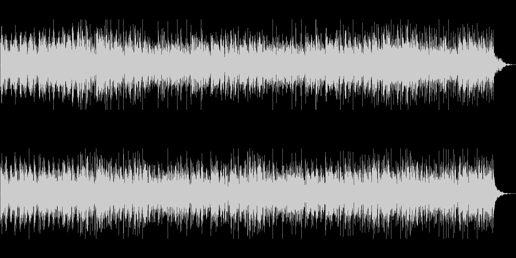 エレピとオルゴールのアンサンブルBGMの未再生の波形