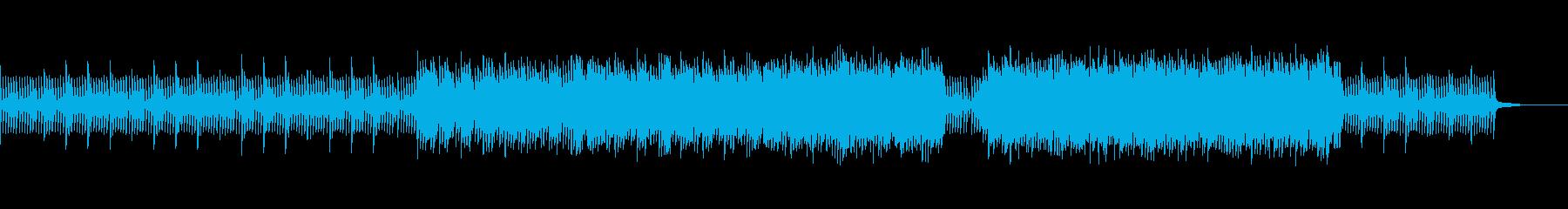 革新、技術、ひらめき、広がりを感じる曲の再生済みの波形