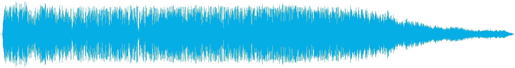スペイシーフライオフスイープ2の再生済みの波形