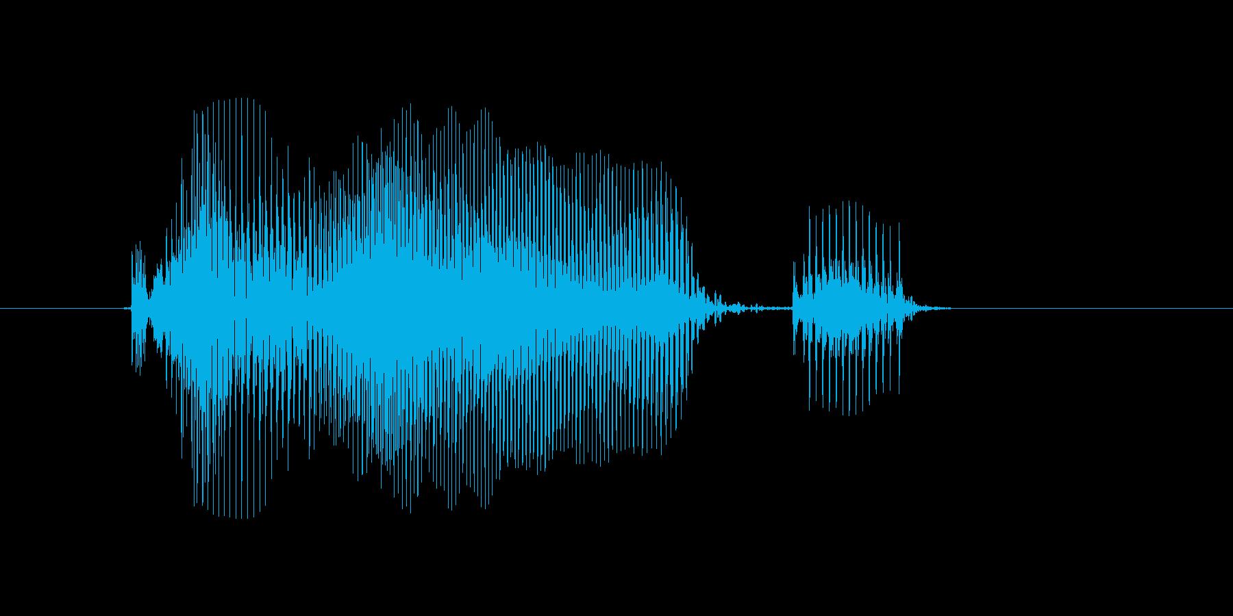 火曜日の再生済みの波形