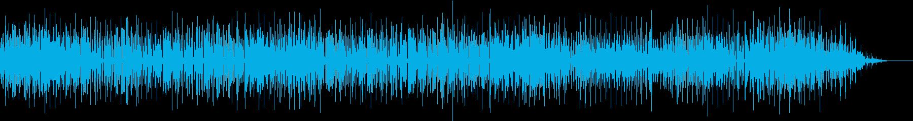 キュートなニュージャックスイング♪の再生済みの波形