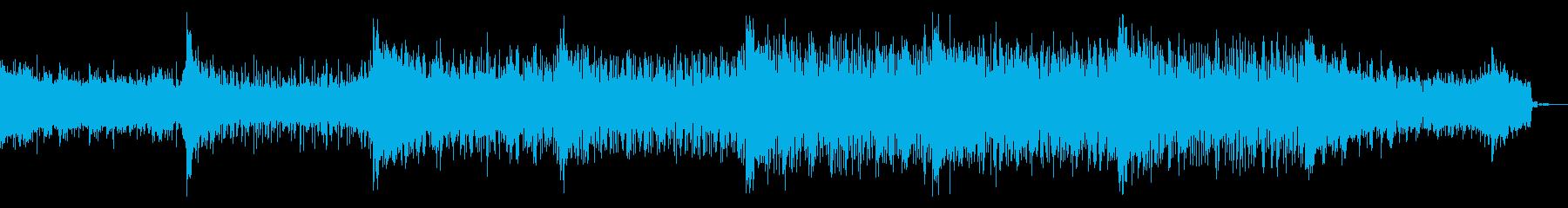 デジタルなアンビエントIDMの再生済みの波形