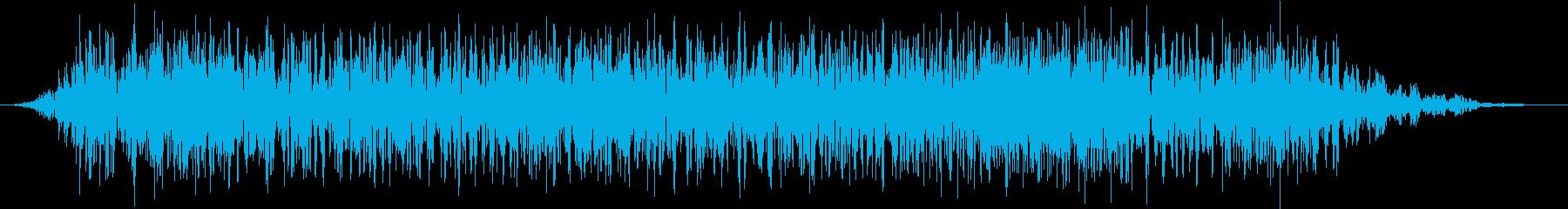 モンスター 悲鳴 49の再生済みの波形