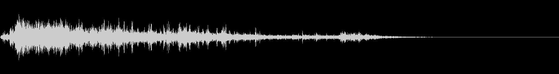カミナリ(近雷)-13の未再生の波形