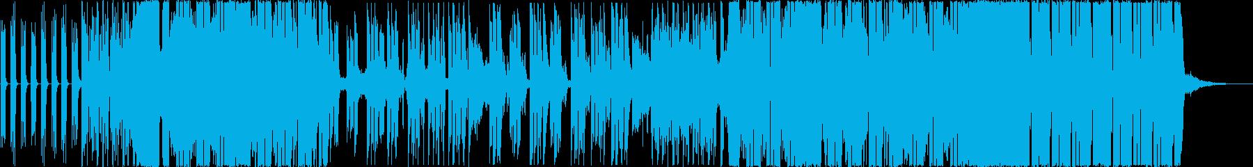 都会 切ない 喧騒 シンセサイザーの再生済みの波形