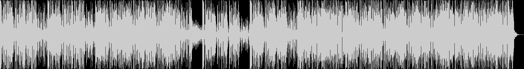 クールなファンクセッションの未再生の波形