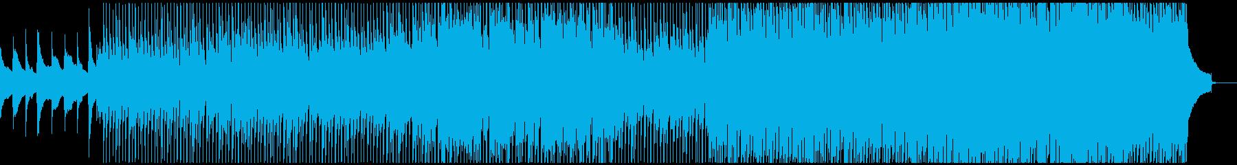 企業VP 始動を感じさせる曲の再生済みの波形