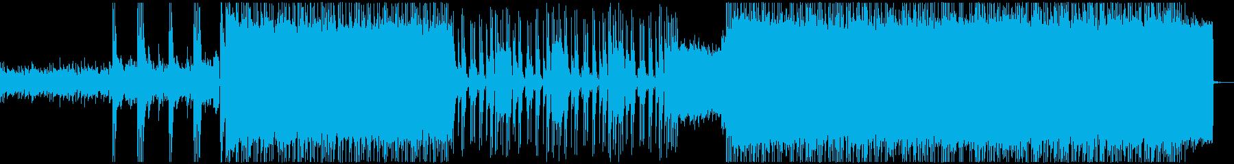 激しく攻撃的なギターのメタル 5の再生済みの波形