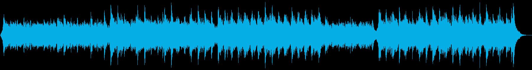 華やかなピアノ&オーケストラ:ピアノと弦の再生済みの波形