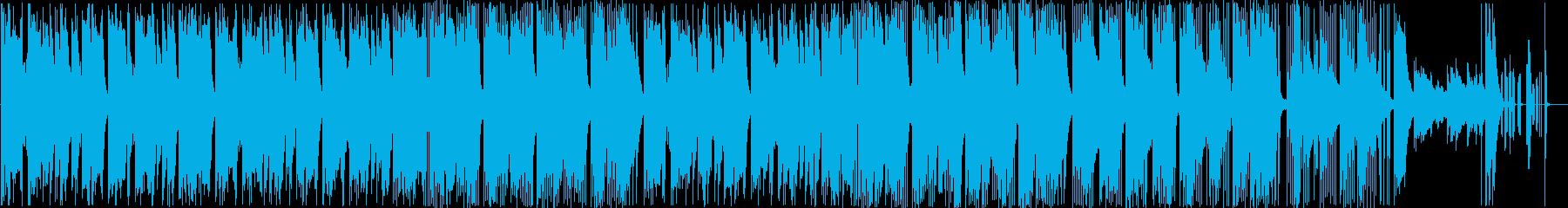 猫型トラップの再生済みの波形