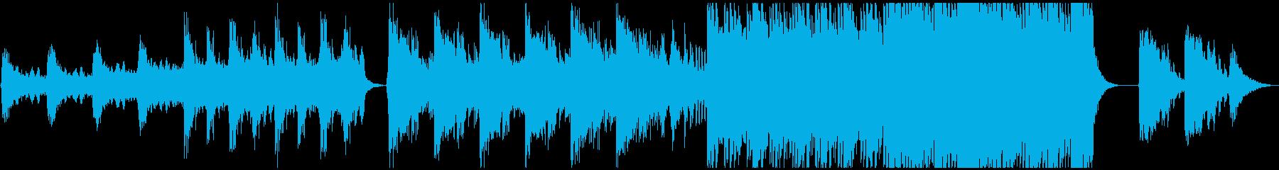 【予告編】ハリウッド・トレーラーの再生済みの波形