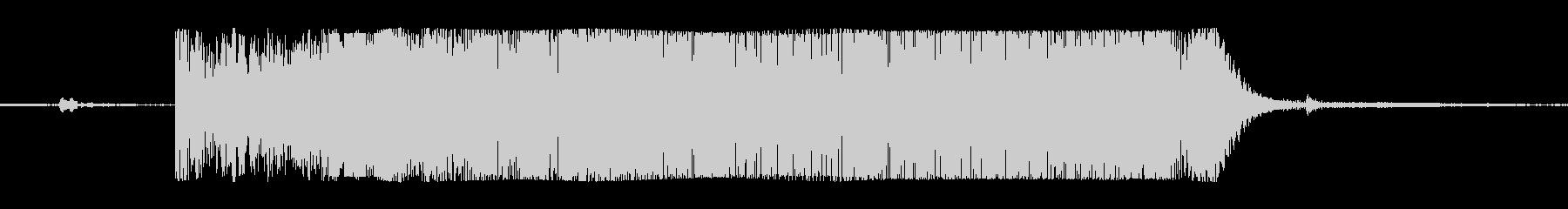 ギターメタルパワーコードiの未再生の波形