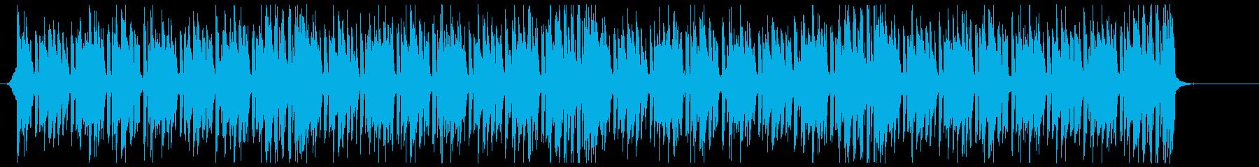 K-POP、EDM、ディスコ dの再生済みの波形