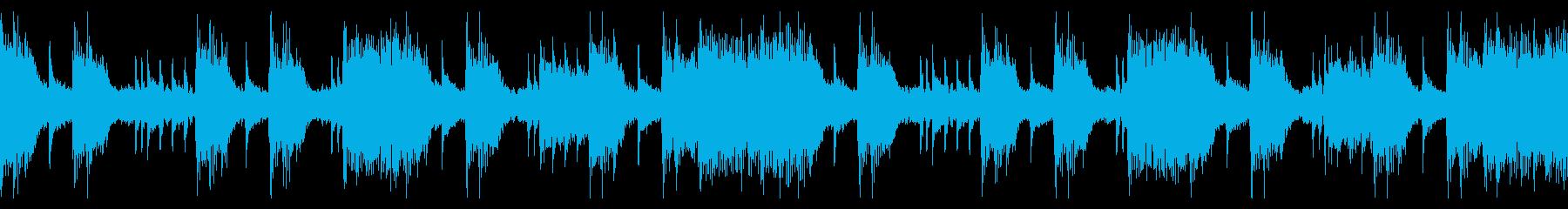 怒りのハードロック(ループ)の再生済みの波形