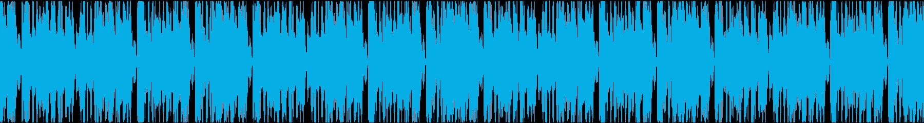 とんでもないインパクトのブレイクビーツの再生済みの波形
