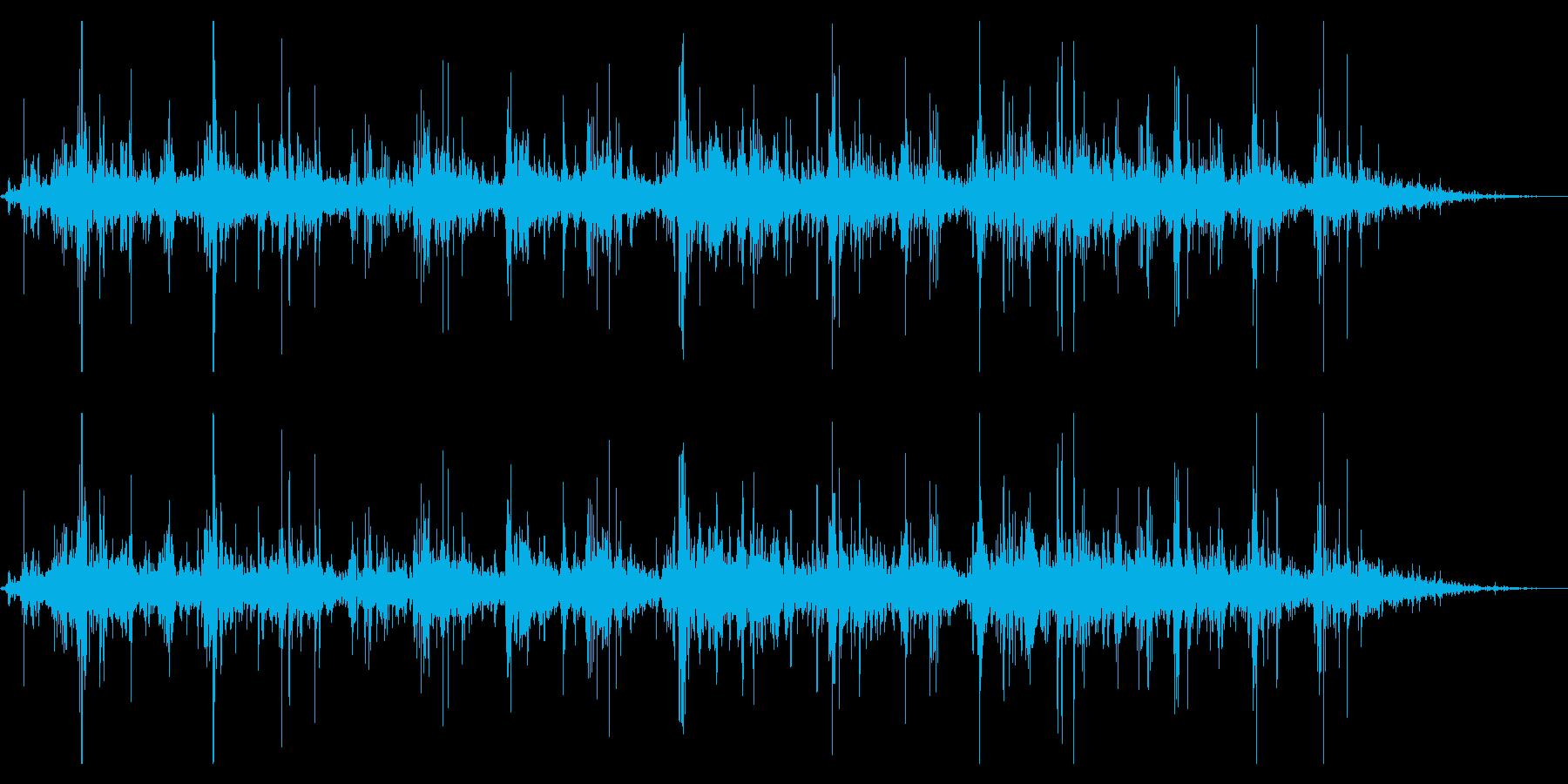 シャラシャラジャラジャラ(鈴・神秘的)の再生済みの波形