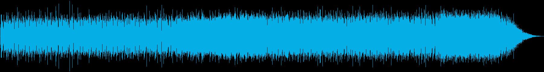 Chill Music 躍動する鼓動の再生済みの波形
