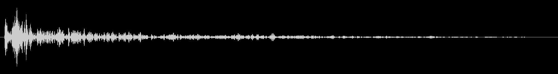 インパクトスリンキーサブクワッドYの未再生の波形