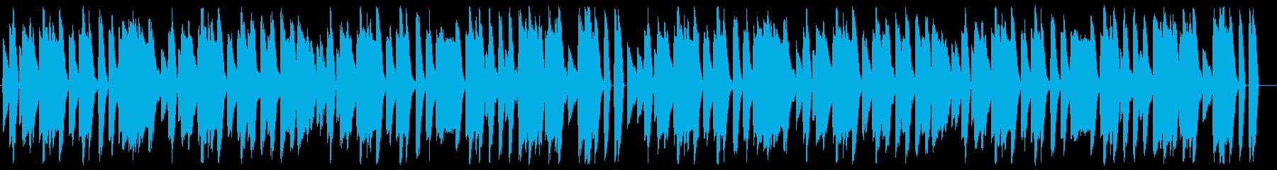 Mario-style fun 8-bit NES BGM's reproduced waveform