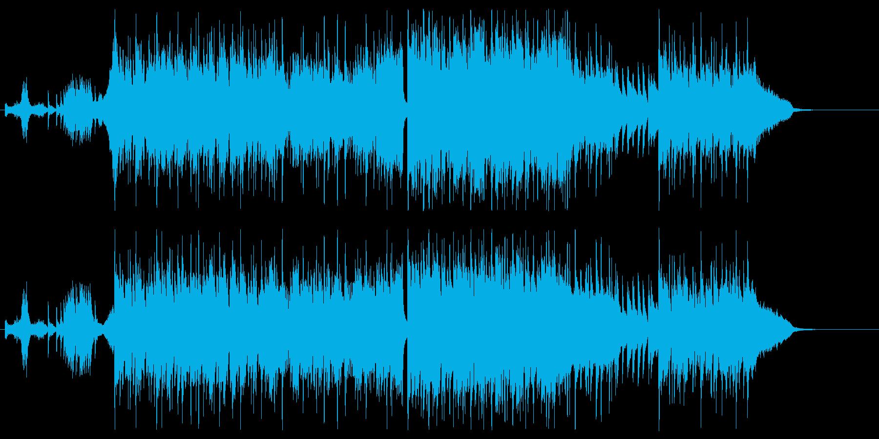 劇伴-中華、軽やかで明るい日常ポップスBの再生済みの波形