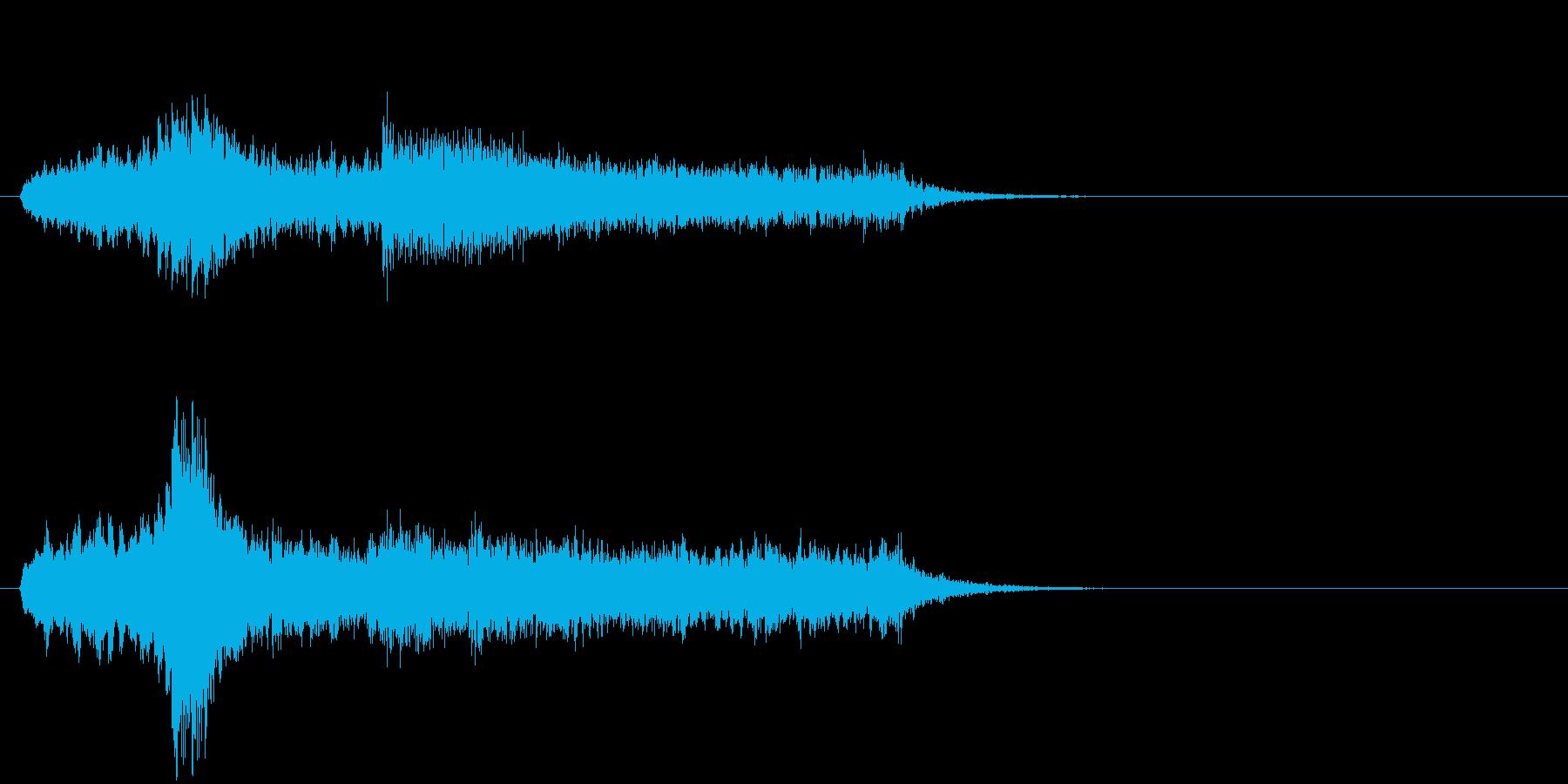 サスペンス 恐怖 謎 重苦しい あやしいの再生済みの波形