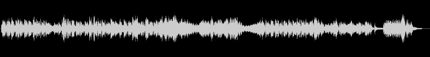 ショパン練習曲12-8忙しく動き回る曲の未再生の波形